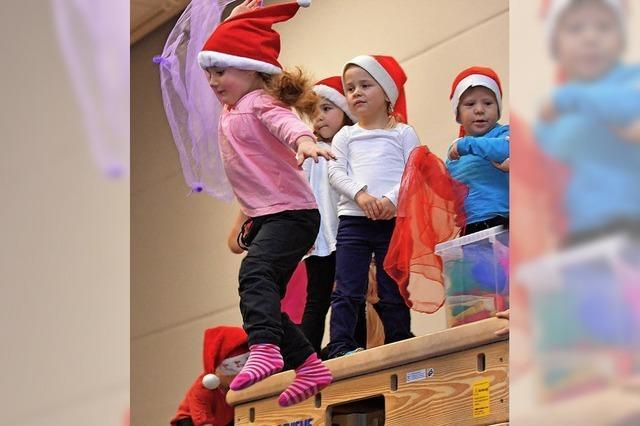 Kinder turnen märchenhaft