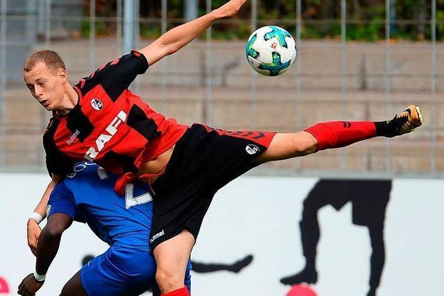 A-Junioren des SC Freiburg im Halbfinale