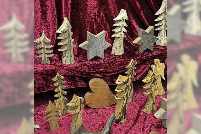 Weihnachtliches Treiben in der Schreinerei