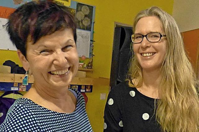 Karin Schuster im Ruhestand