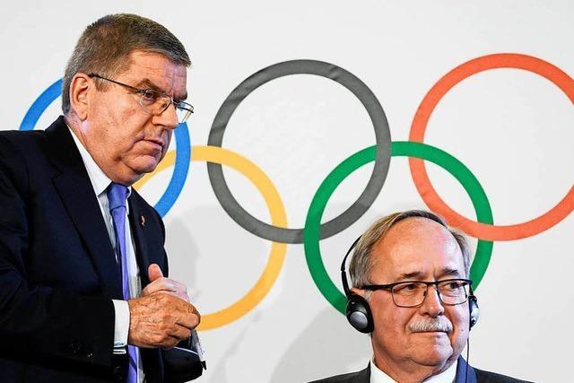 Russische Athleten bei Olympia unter neutraler Flagge