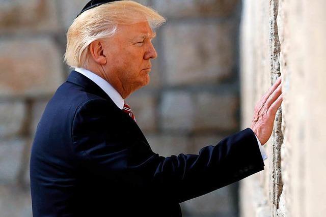 Trump erkennt Jerusalem als Hauptstadt Israels an