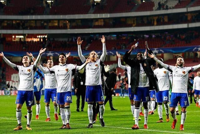 FC Basel erreicht Achtelfinale der Champions League