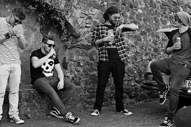Konzert mit vier Bands im Jugendcafé in Murg