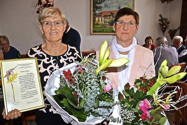 Seit Jahrzehnten aktiv im Sasbacher Kirchenchor