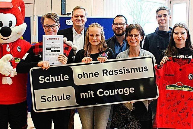 Schule in Friesenheim wird mit Titel ausgezeichnet