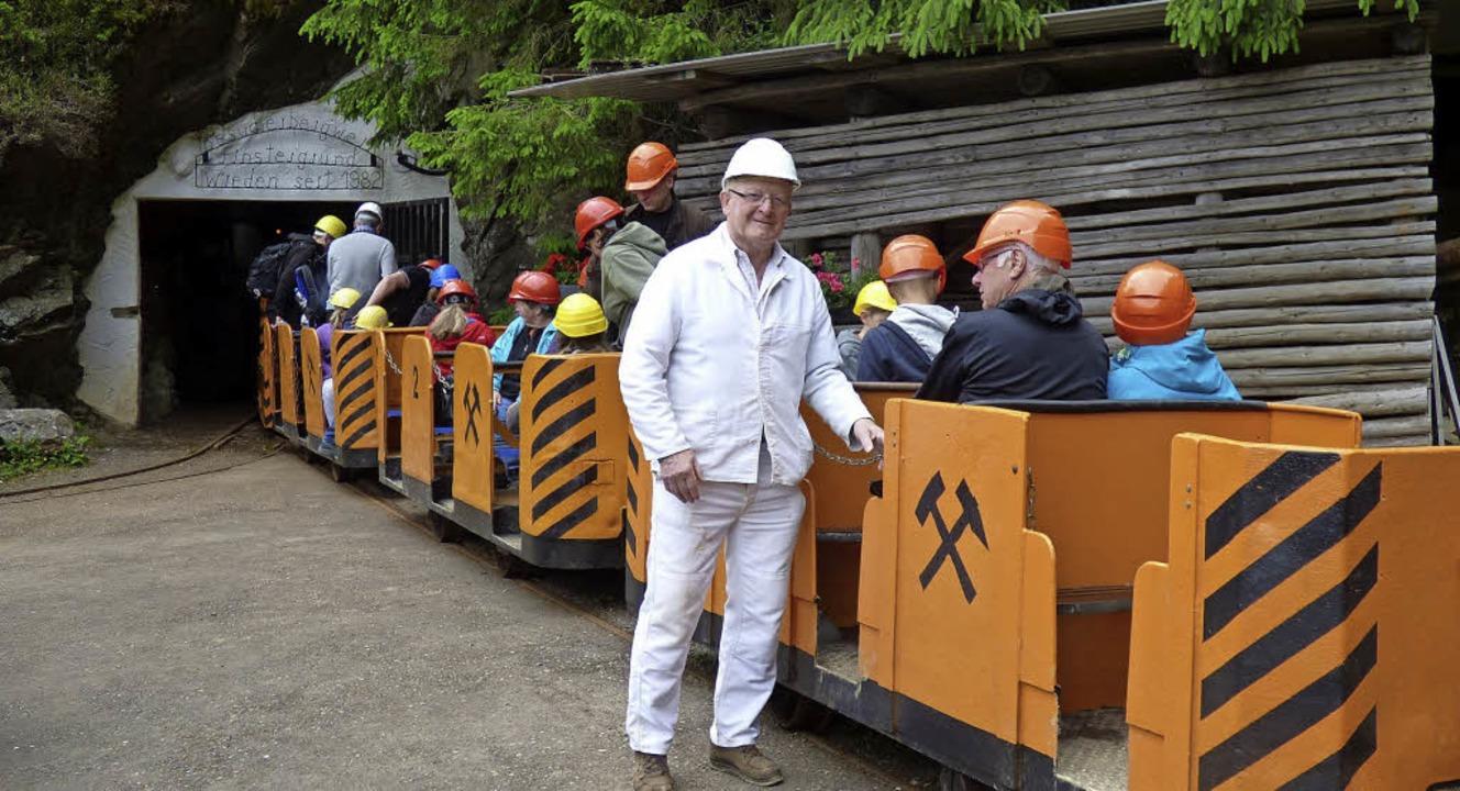 Der Bergmannsverein Finstergrund organisiert Führungen in der Grube.   | Foto: Bergmannsverein