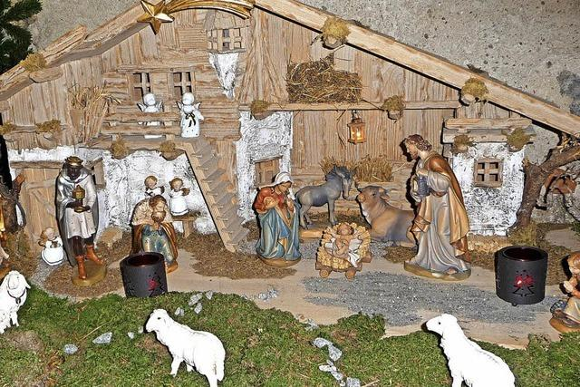 Oberried feiert die Vorweihnachtszeit