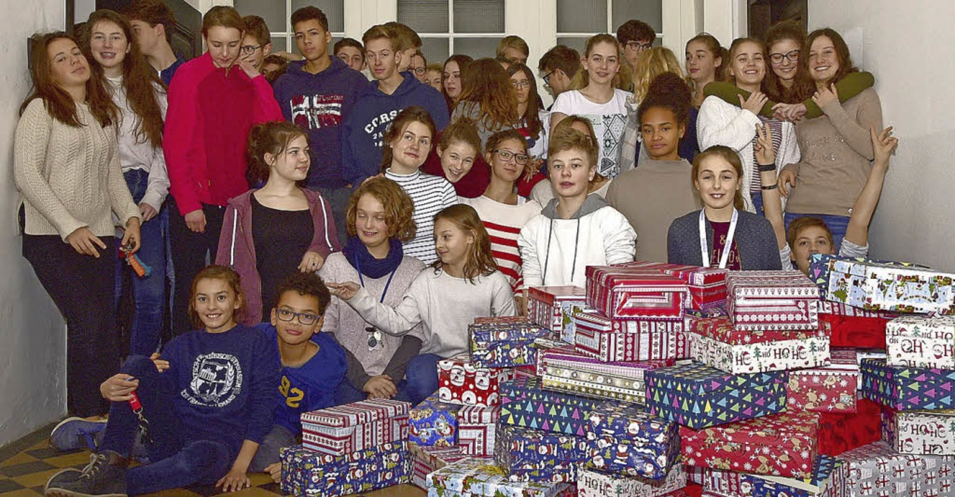 <BZ-FotoAnlauf>Weihnachten:</BZ-FotoAn...m des Deutsch-Französischen Internats   | Foto: bz