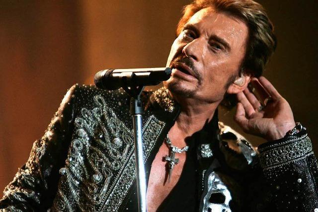 Franzosen trauern um ihren Rockstar Johnny Hallyday