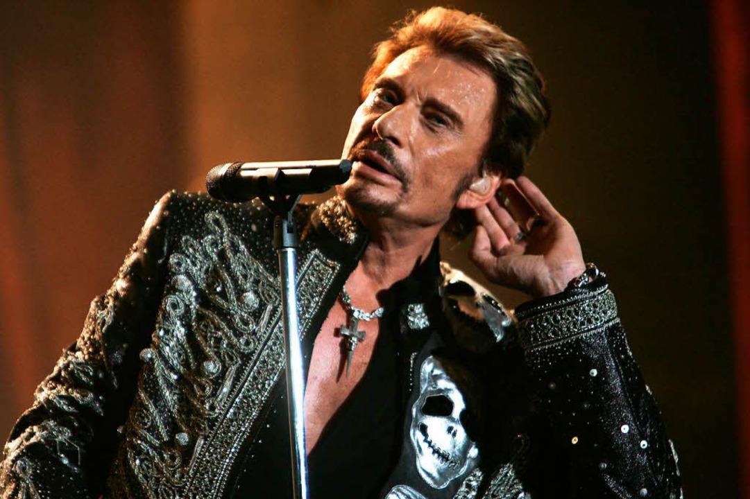 Für die Franzosen wie ein Mitglied der...inem Konzert 2006 in Paris <AFP></AFP>  | Foto: AFP