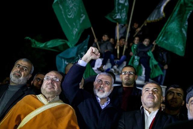 Hamas-Chef ruft zu neuem Palästinenseraufstand auf