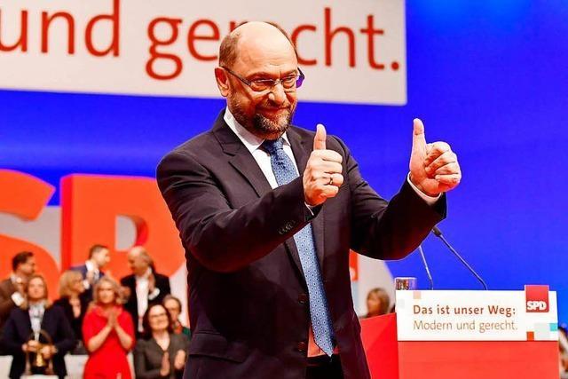 Schulz appelliert an SPD: Nicht vorm Regieren drücken