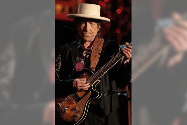 Literaturnobelpreisträger Bob Dylan im Festspielhaus Baden-Baden
