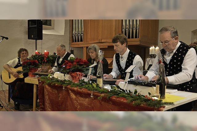 Freiämter Saitenmusik in Freiamt