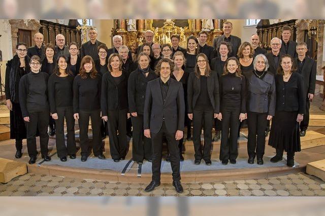 Freiburger Kammerchor und Kilian Heitzler Big Band in Emmendingen