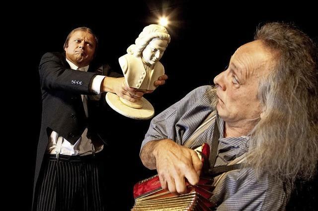 Gogol & Mäx im Lörracher Burghof mit