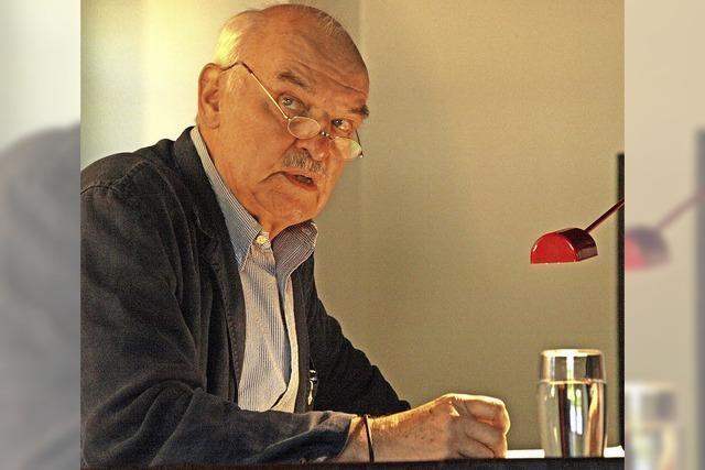 Charles Brauer liest im Wehrer Bürgersaal aus John Grishams