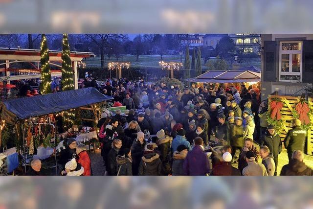 Weihnachtsmarkt aus