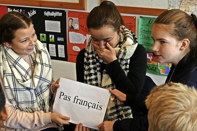 Es wird französisch gesprochen