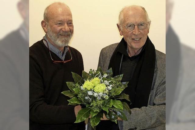 Urlich Weishaar ist neuer Vorsitzender des Bürgervereins Opfingen