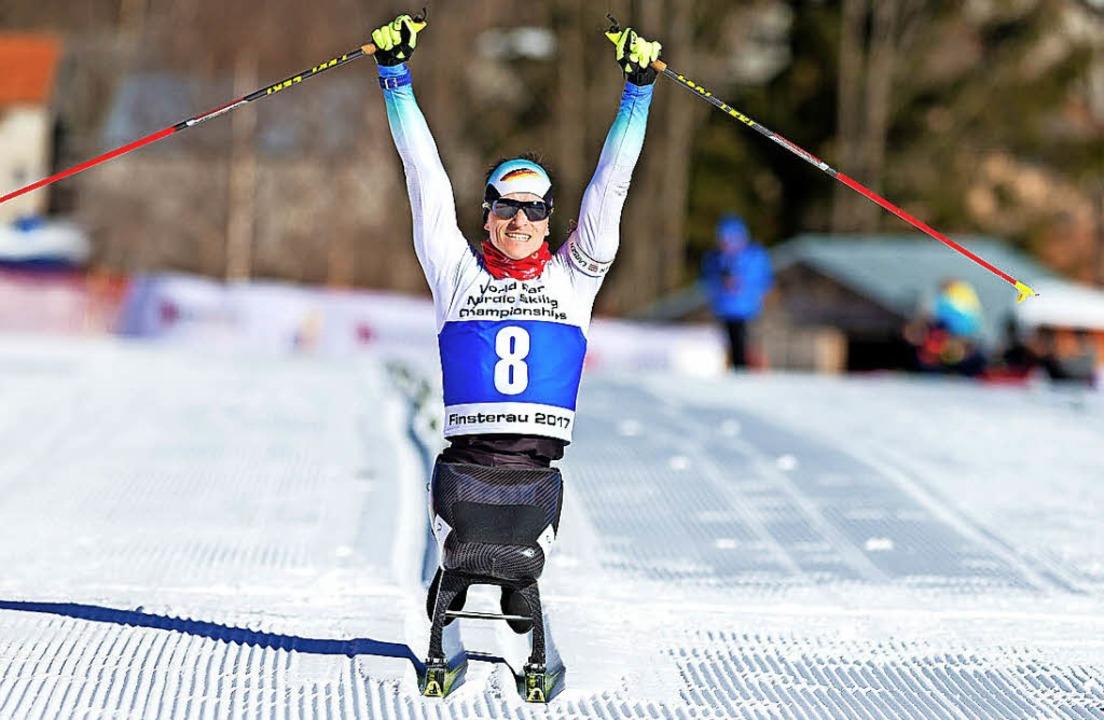 Nach seinen WM-Triumphen will der Gund... nun auch bei den Paralympics jubeln.   | Foto: Kuckuck