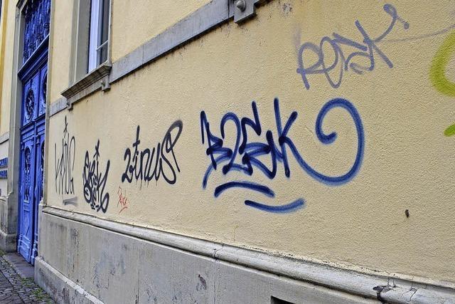 Initiative gegen illegale Graffiti