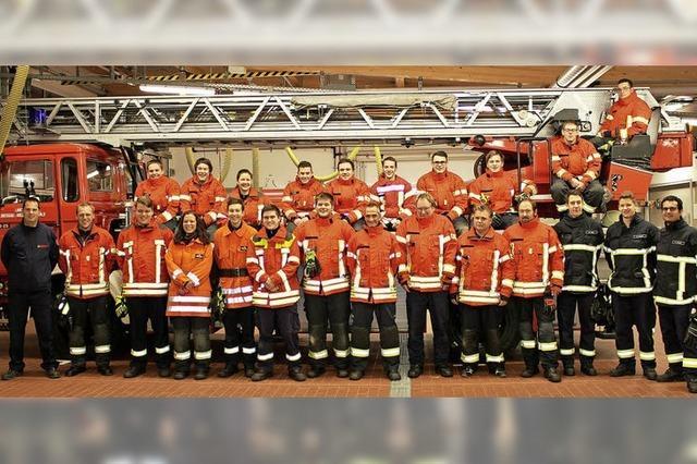 Feuerwehrnachwuchs für den Kaiserstuhl