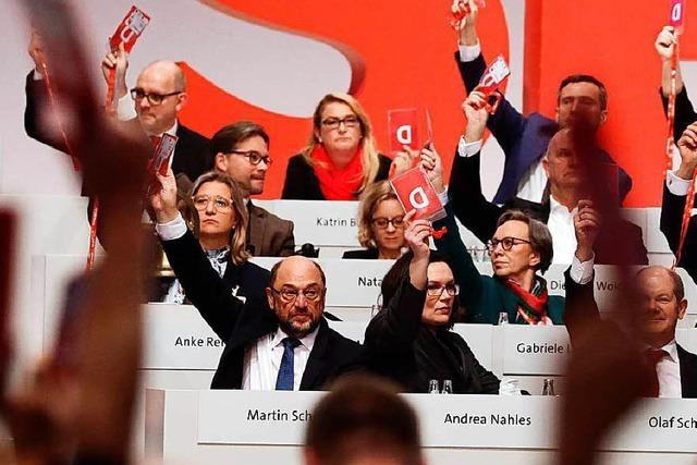 SPD stimmt ergebnisoffenen Gesprächen mit Union zu