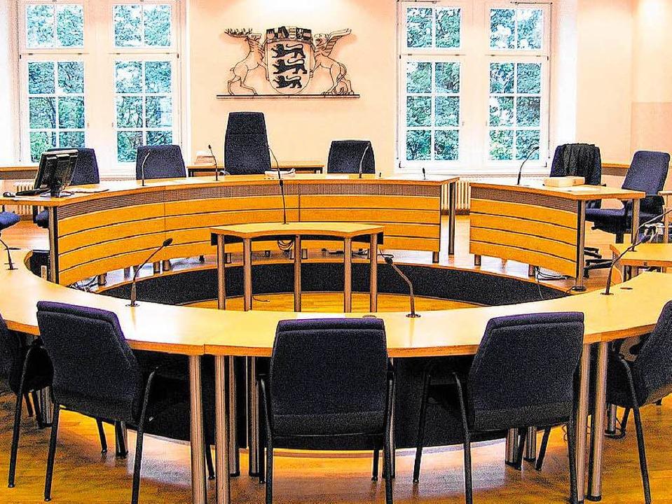 Der Prozess um die Rickenbacher Messer...im Landgericht Waldshut-Tiengen statt.  | Foto: bz