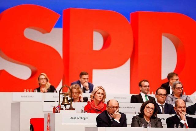 Der Parteitag offenbart die alten Leiden der SPD