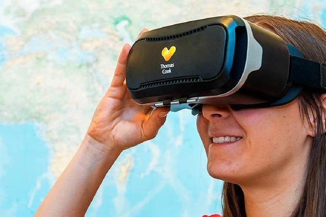 Urlaubsanbieter wollen mit VR-Brillen Reisen verkaufen