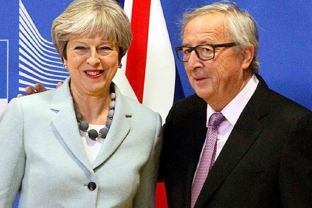 Erster Durchbruch bei den Brexit-Verhandlungen