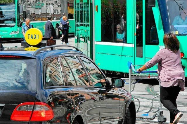 Der Centralbahnplatz Basel ist die gefährlichste Tramhaltestelle der Schweiz