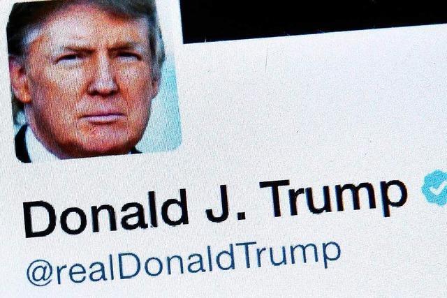 Wieso Donald Trump eine Frau aus Weils englischer Partnerstadt antwitterte