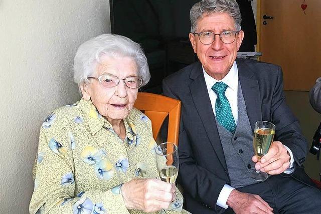 Wie wird man 105 Jahre alt?