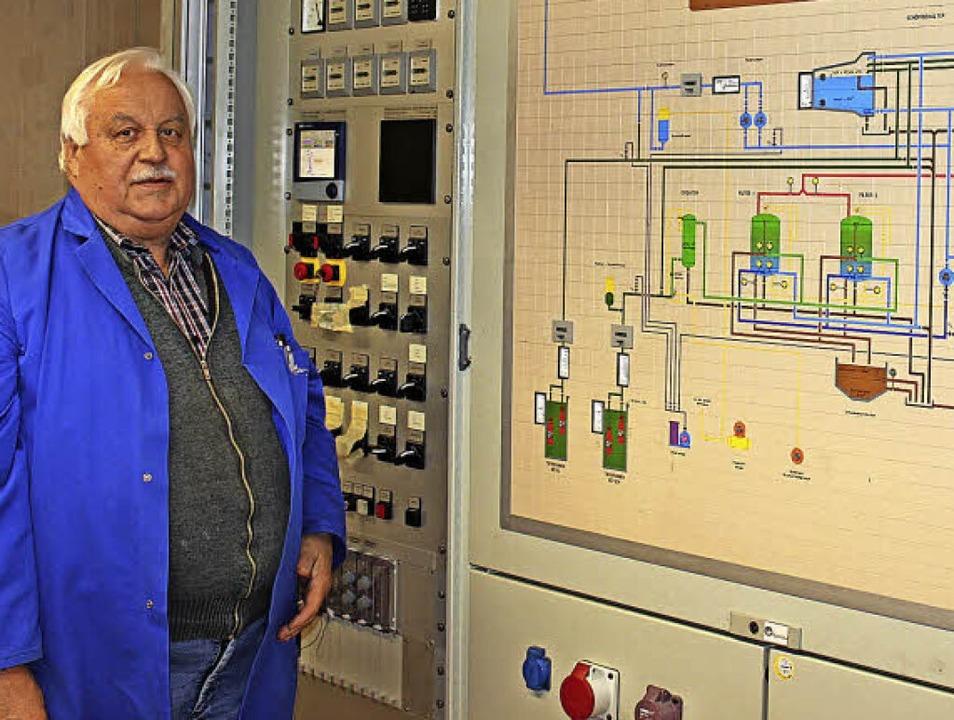 Hubert Maurer kennt sich mit der Technik aus.   | Foto: Mario Schöneberg