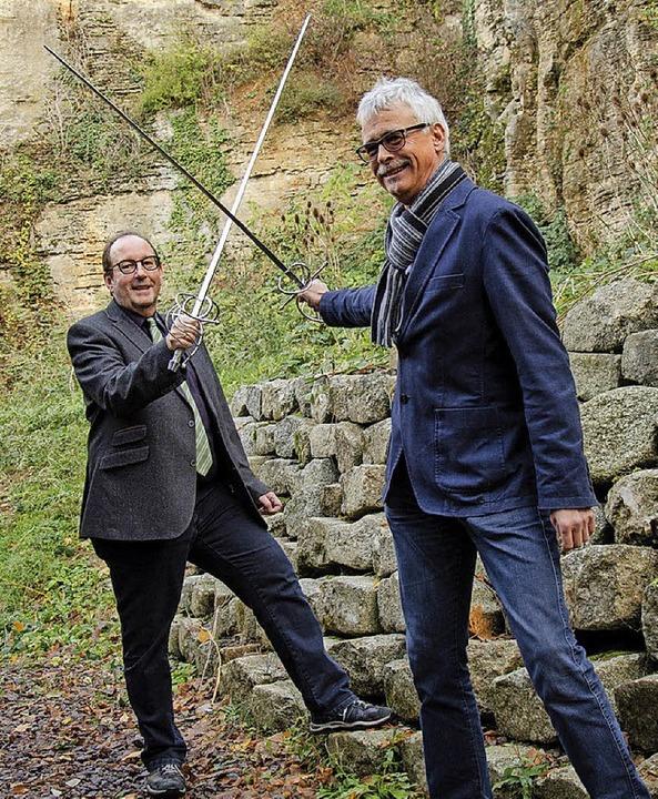 Nichts ist, wie es scheint: Hans-Joach...st erfreulich, eine 4000-Euro-Spende.   | Foto: Stadtwerke