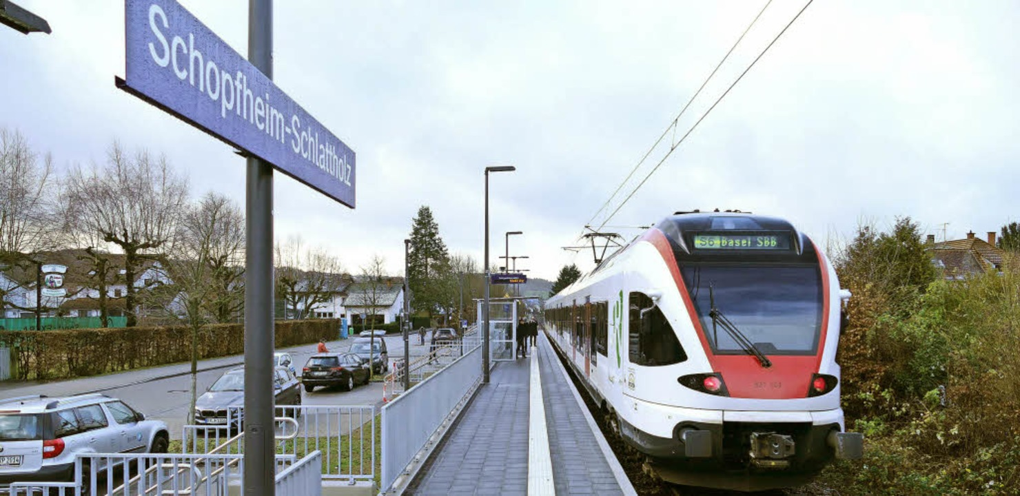 Anschluss für das Schlattholz: Am Frei...et, ab Sonntag wird sie auch bedient.   | Foto: André Hönig