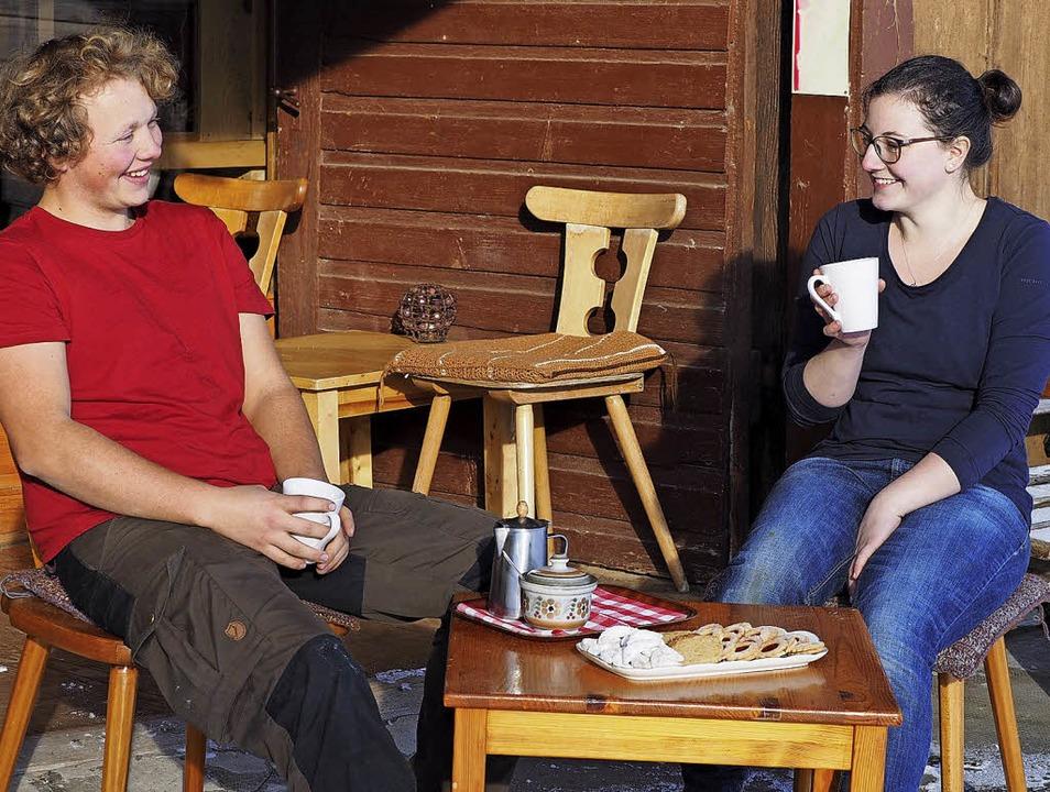 Mögen  Brötle aus Emmer: Adrian Lützow und Sarah Tirjer   | Foto: S. Gilg