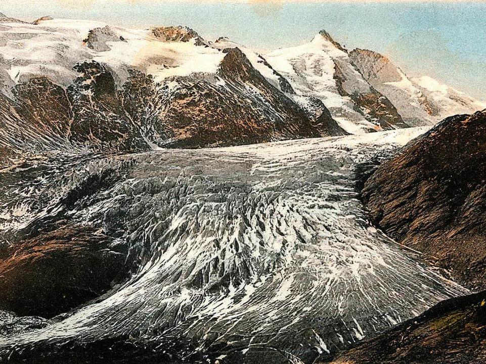 Der Gletscher ist geschmolzen und übri...en)  | Foto: Gesellschaft für ökologische Forschung /adobe.com/dpa/afp