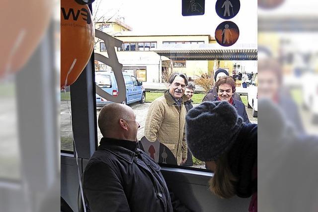 Zusätzlicher Bus erinnert an Harriet Straub