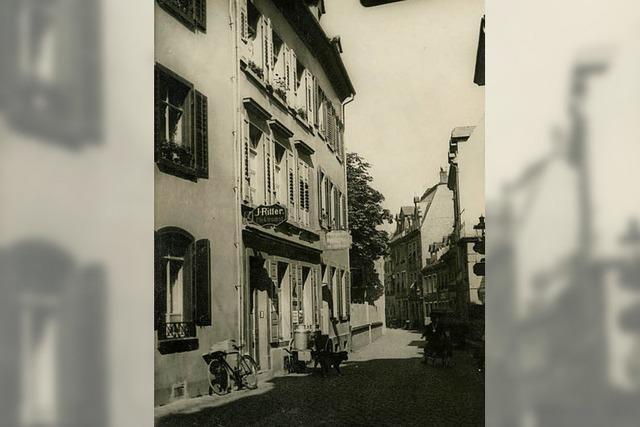 Die Weberstraße in der Altstadt heißt schon seit dem Mittelalter so