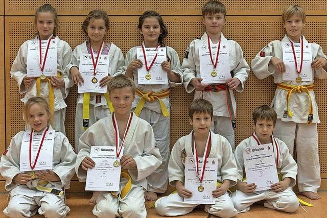 Erfolgreiche Judoka