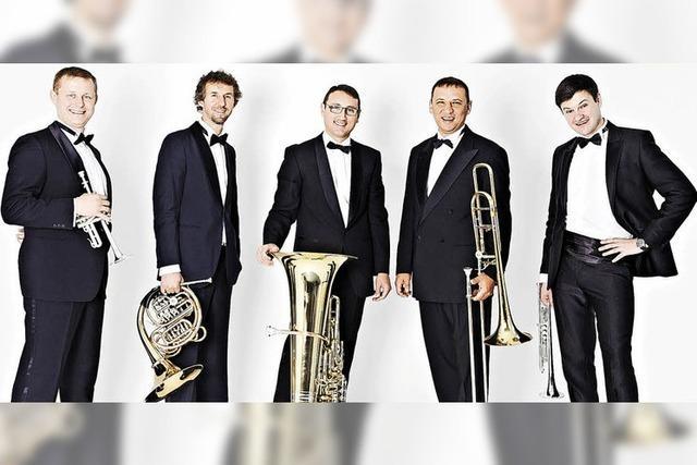 Kiew Brass Quintett in St.m Märgen