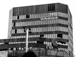 Abriss der Freiburger Volksbank