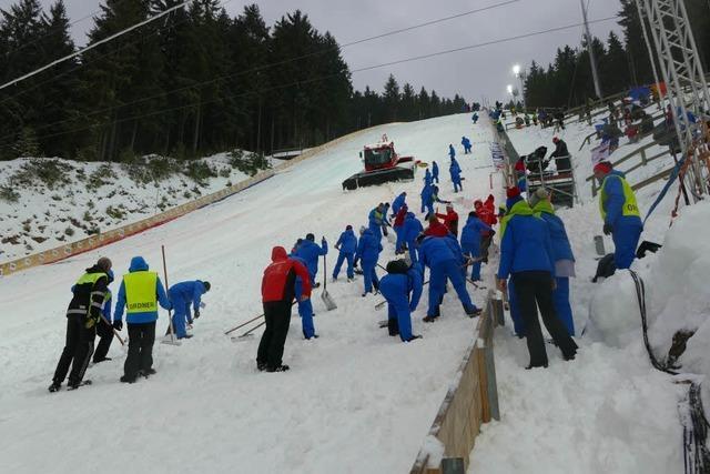 Himmel und Hölle beim Skisprung-Weltcup in Titisee-Neustadt