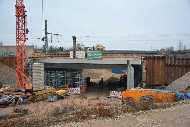 NWU-Brücke wird diesen Dienstag eingeschoben