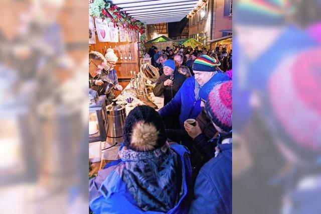 Weihnachtsmarkt mit Dorf-Flair