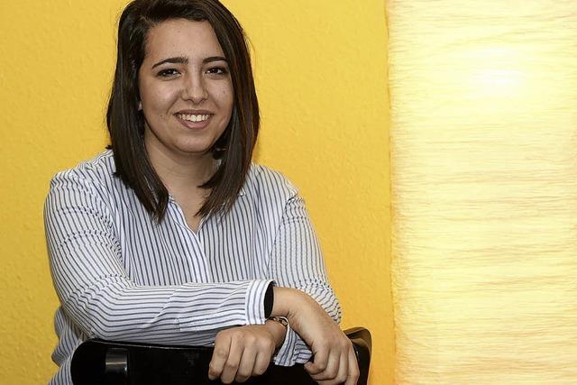 "Shada Elmagri aus Libyen war drei Monate Praktikantin beim Verein ""Amica"""